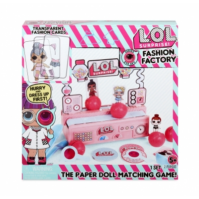 Figuka L.O.L. Fashion factory game