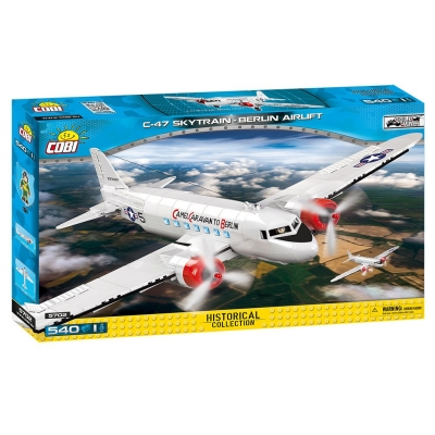 Klocki Historical Collection C-47 Skytrain Berlin Airlift